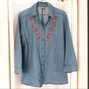 Laura Scott | Embroidered Top